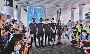 學生組織申九龍遊行被拒 尖沙咀設街站譴責政治打壓