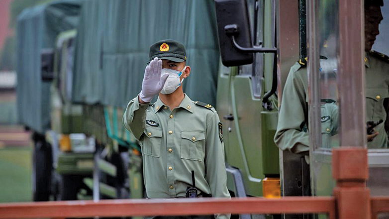 中共政權風雨飄搖,習近平緊急佈局公安防政變。(Getty Images)