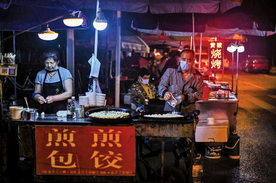 北京市開始清除地攤經濟