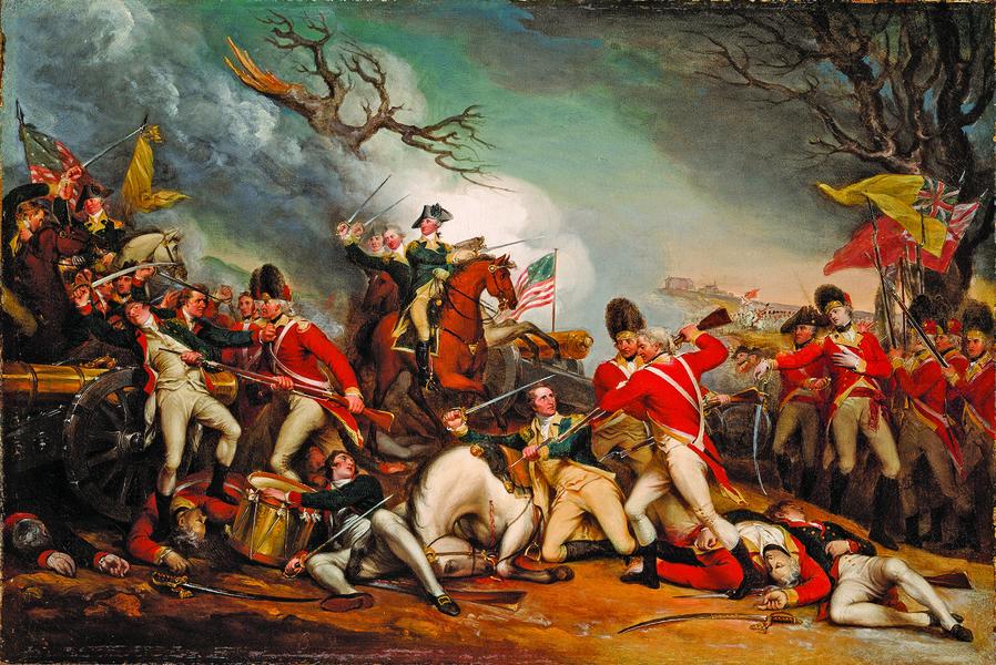 華盛頓將軍系列故事:普林斯頓之戰