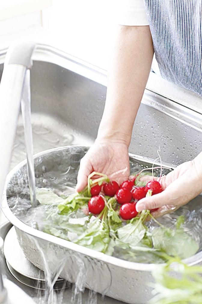 清潔蔬果非常重要。