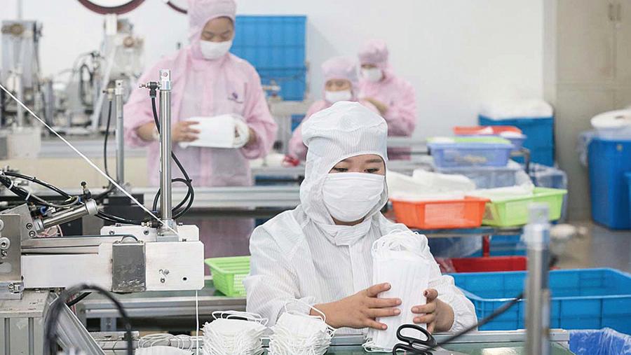 中國50萬劣質口罩輸美 遭美方起訴