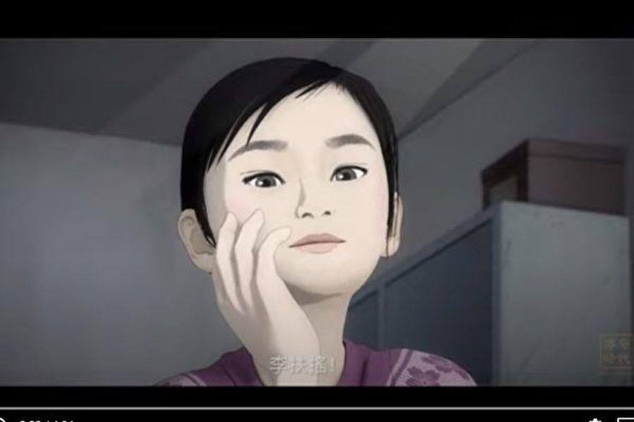 新唐人電視台「傳奇時代」欄目與國際著名漫畫家郭競雄聯手製作,並推出基於真實故事的動畫新片《扶搖直上》。(影片截圖)