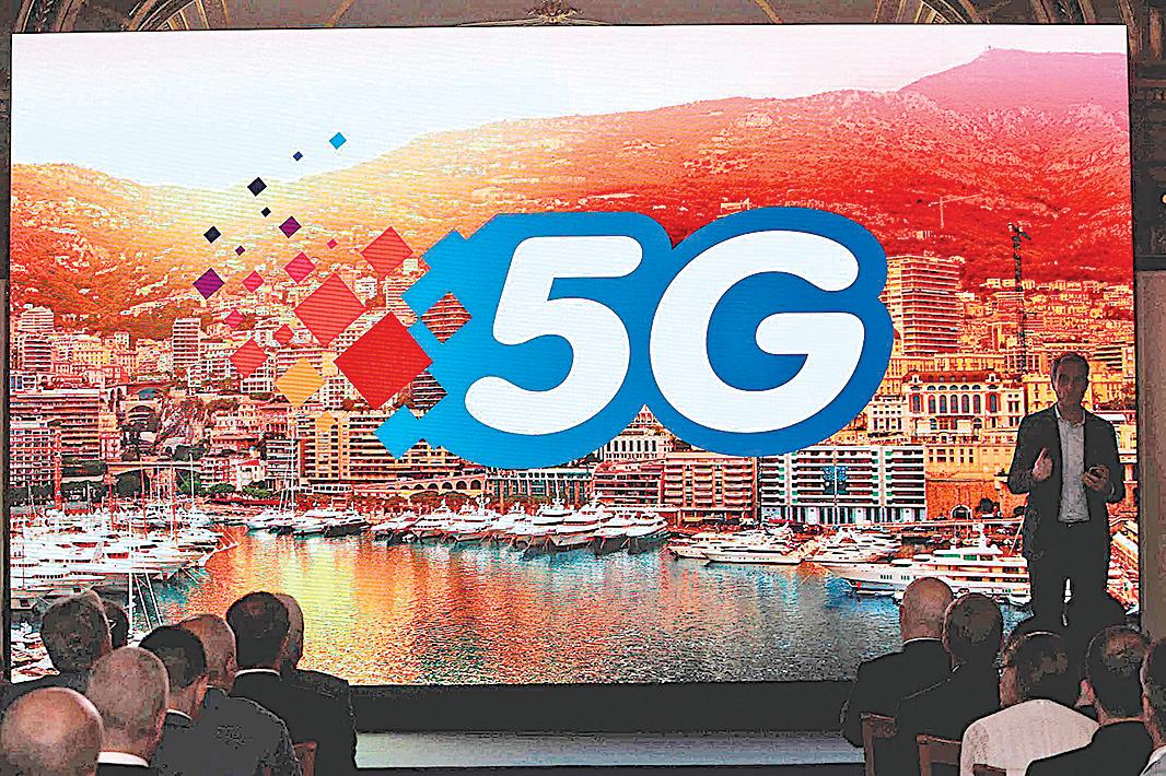 加拿大貝爾(Bell)及研科(Telus)公司2020年6月2日宣佈各自的5G網絡合作夥伴,華為被排除在外。(VALERY HACHE/AFP)