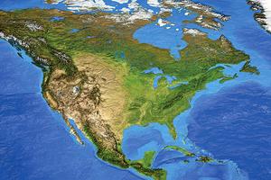 研究發現整個美國大陸在變矮?