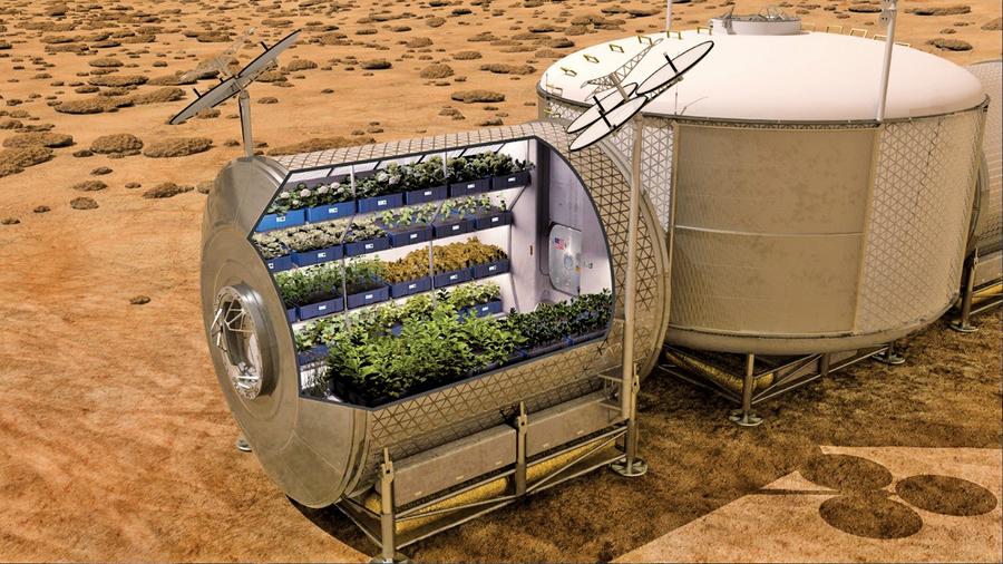 火星人怎樣獲得食物和水