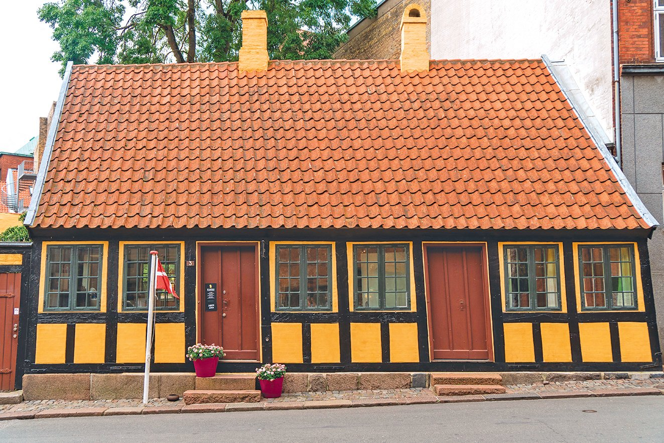 安徒生博物館是這位童話大師童年生活的地方。
