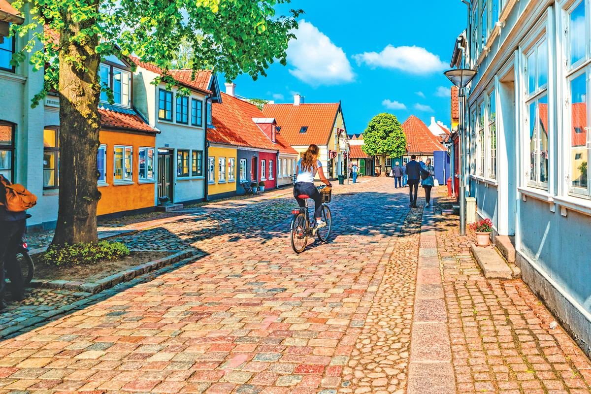 古樸典雅的北歐小鎮──歐登塞。
