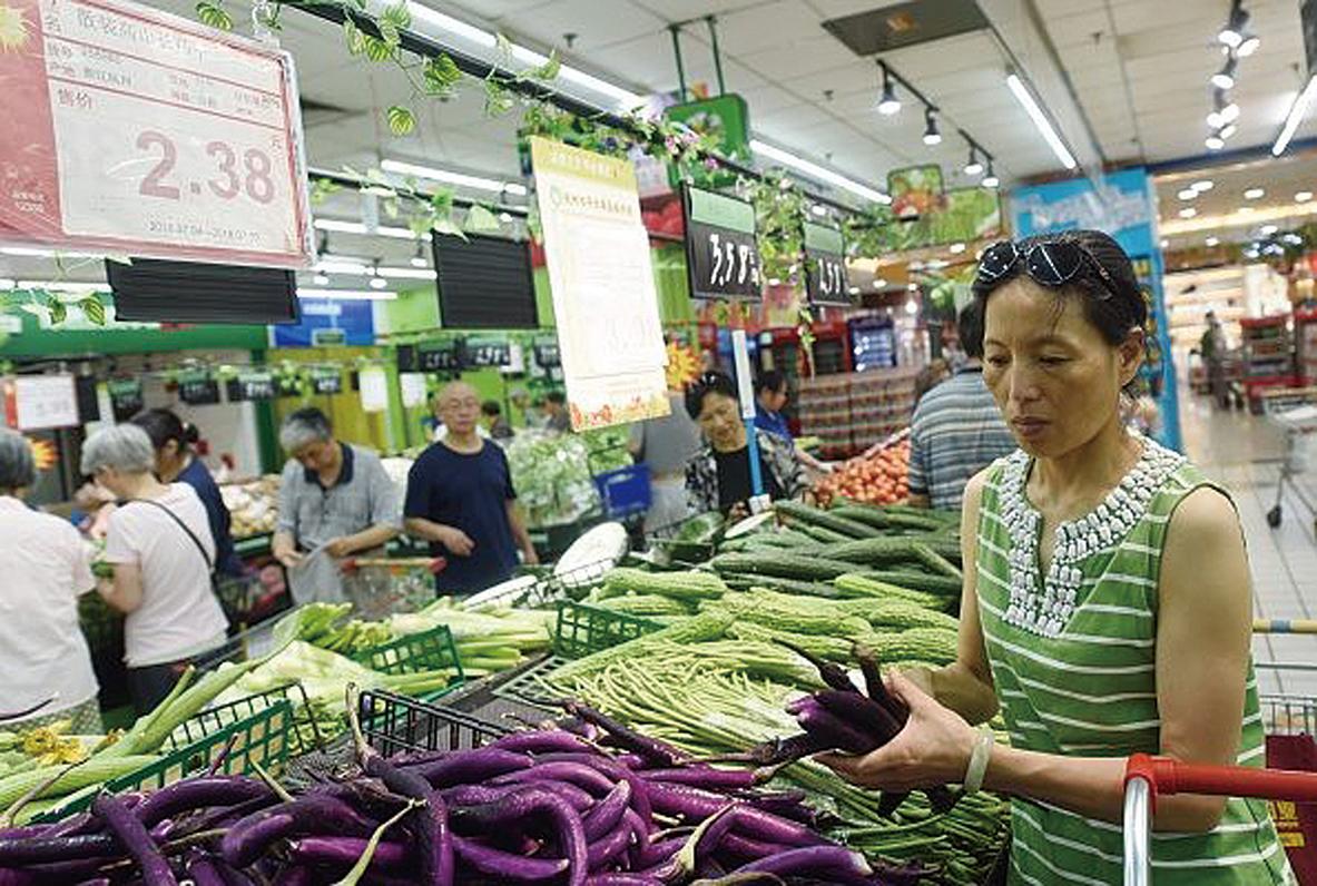 上周,大陸農產品價格環比上漲。圖為示意圖。(Getty Images)