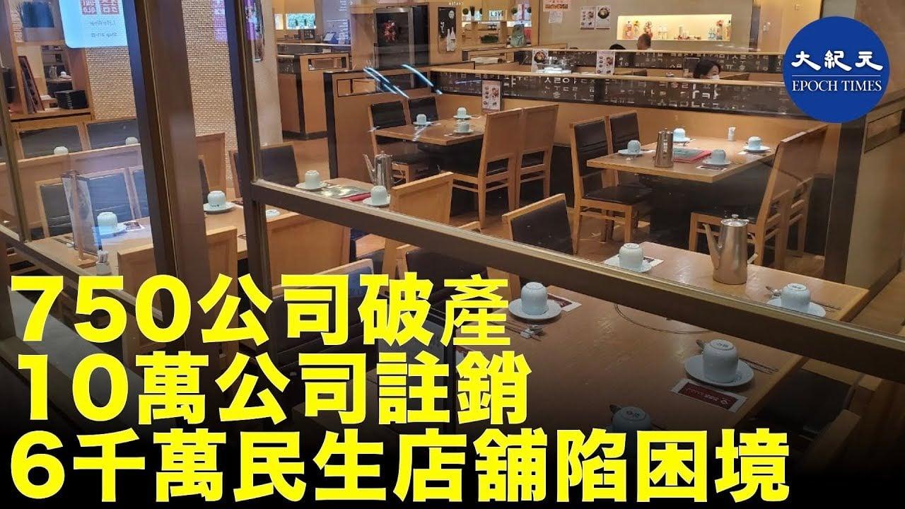中共病毒對中國經濟造成前所未見的重創。專家提出的數據顯示:新增失業人數可能超過7,000萬;中國失業率約30%。(影片截圖)