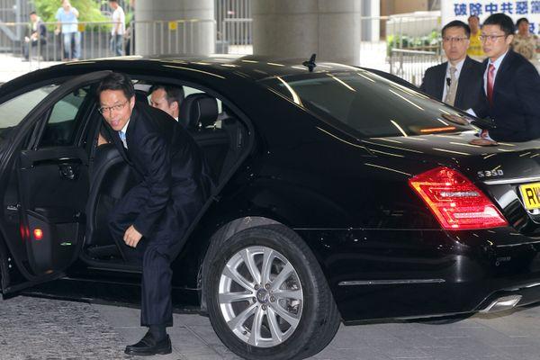 圖為中共國務院港澳辦公室副主任張曉明。(潘在殊/大紀元)