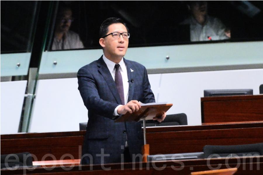 林卓廷提國安法立法前休會討論 梁君彥暫停會議