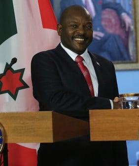 中共病毒(武漢肺炎)疫情在非洲確診病例不斷增加之際,非洲國家布隆迪總統恩庫倫齊扎突然死亡,享年55歲。(Alex Wong/Getty Images)