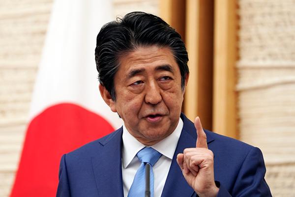 6月10日,日本首相安倍晉三表示,日本政府將在七國集團(G7)對香港問題的聲明中採取主導角色。(大紀元資料室)