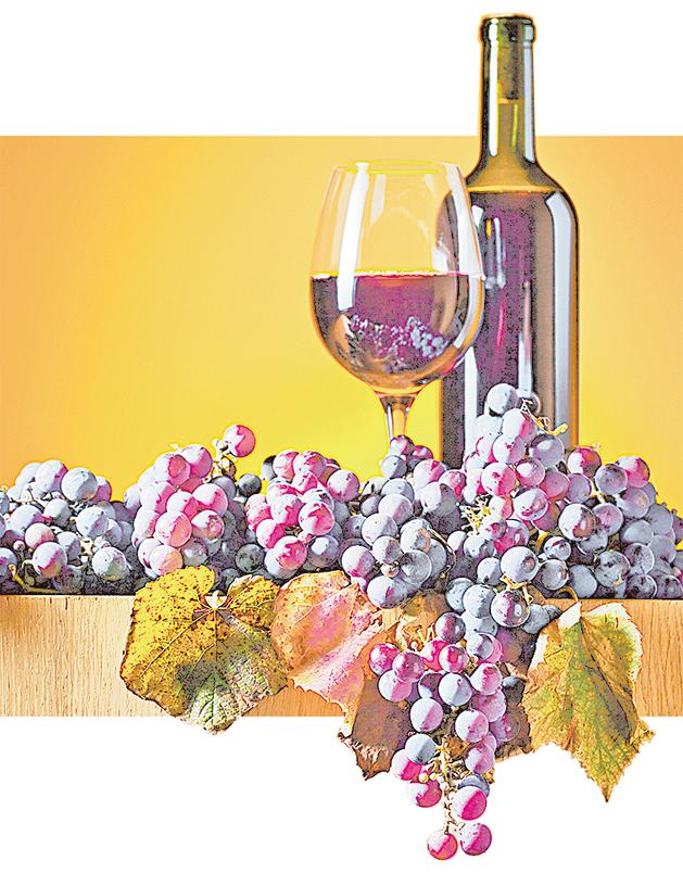 葡萄酒是古地中海地區最受歡迎的飲料。(Fotolia)