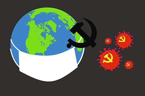 因中共隱瞞疫情,導致了中共病毒大瘟疫席捲全球。(明慧網)