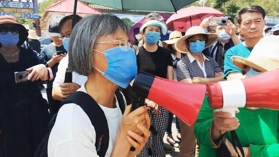 北京昌平七旬老人堅守147天抗議強拆 籲業主拋棄幻想