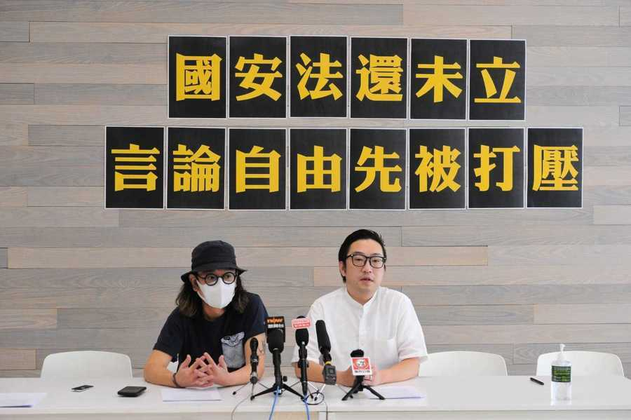 「全民參政」:國安法未立 政團宣傳片已被「政治審查」