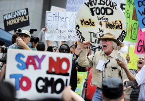 美國基因改造食品需標註