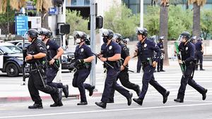 洛城兇殺案上周增250% 左媒質疑警察撤資