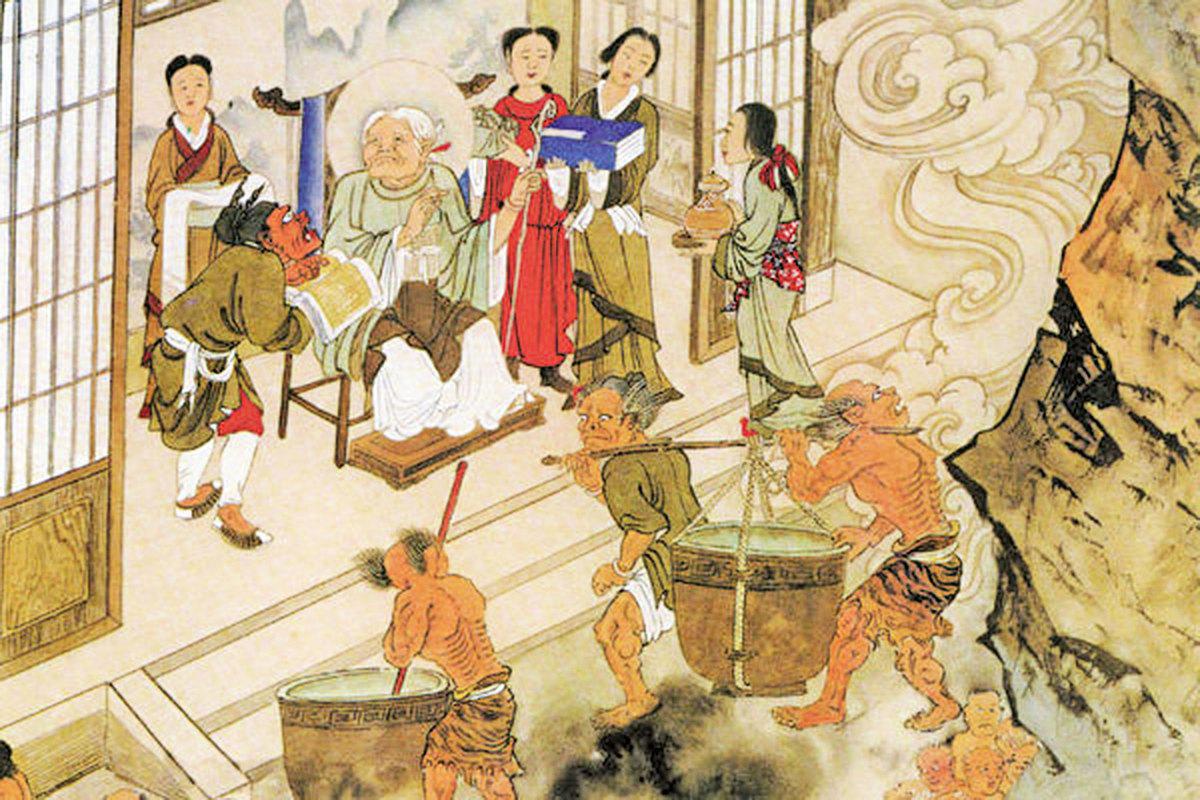 第十殿轉輪王所轄之孟婆亭。(江逸子提供圖片)