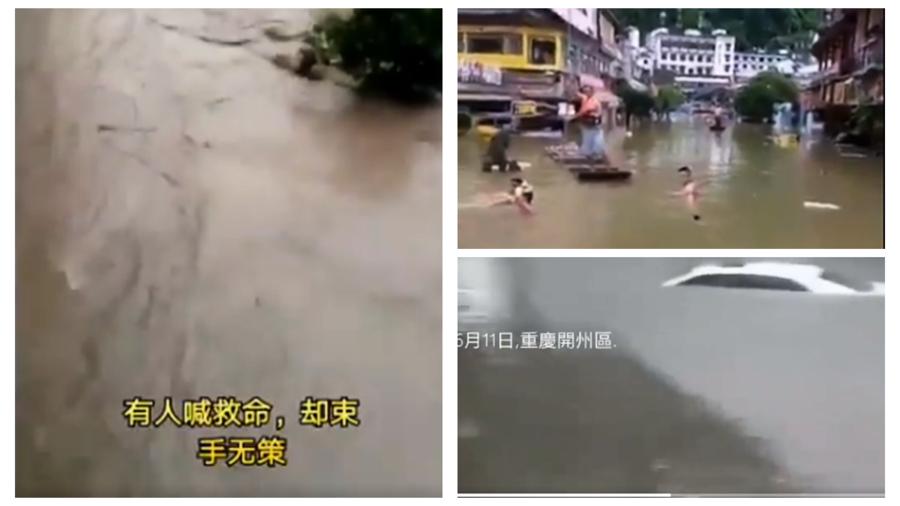 中國暴雨已致580萬人次受災 死亡失蹤人數成謎