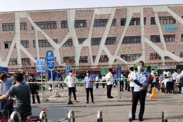 疫情再度逼近中南海 北京六大批發市場停業