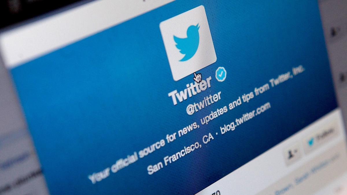 社交媒體推特(Twitter)的徽標。(Mary Turner/Getty Images)