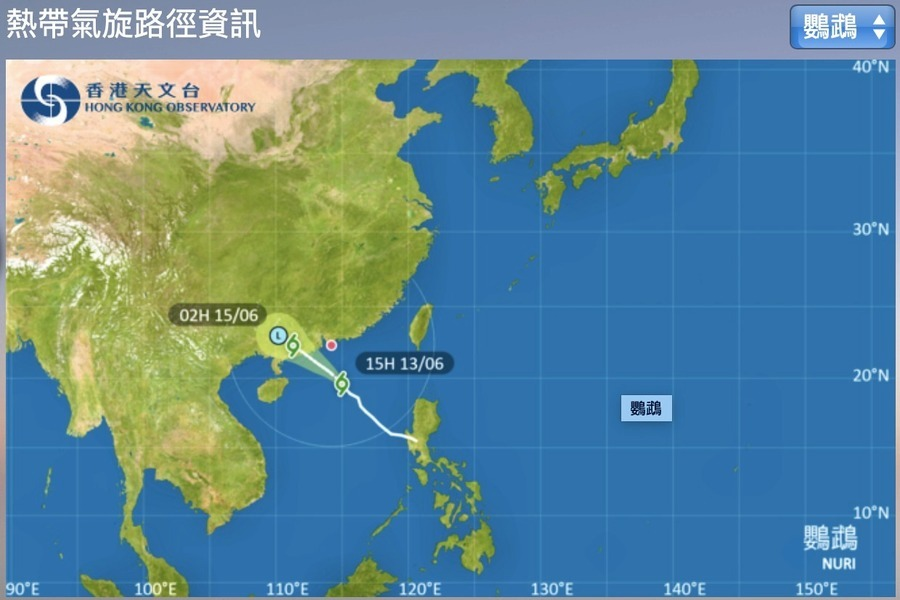 本港三號強風信號現正生效  明日有狂風驟雨