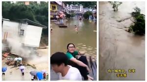 中國水災多嚴重?盤點央視看不到的鏡頭(15影片)