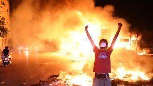 黎巴嫩幣值暴跌70% 示威者抗議政府無力挽經濟