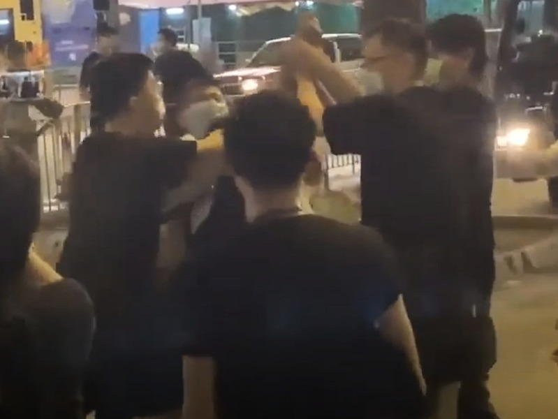 記協強烈譴責襲擊《大紀元》記者暴力行為