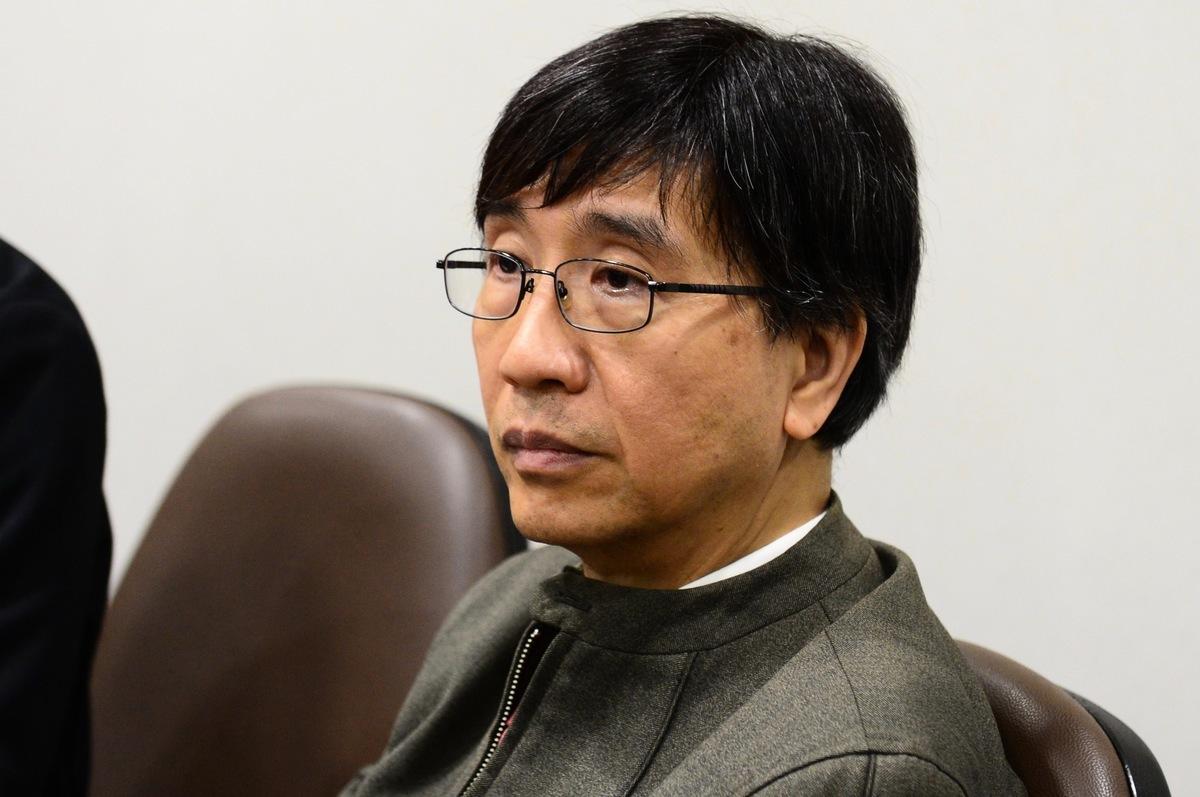 港大微生物系講座教授袁國勇。(宋碧龍/大紀元)