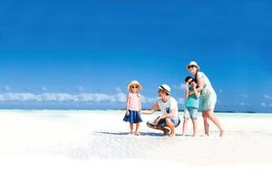 暑假是與家人相處的好時機