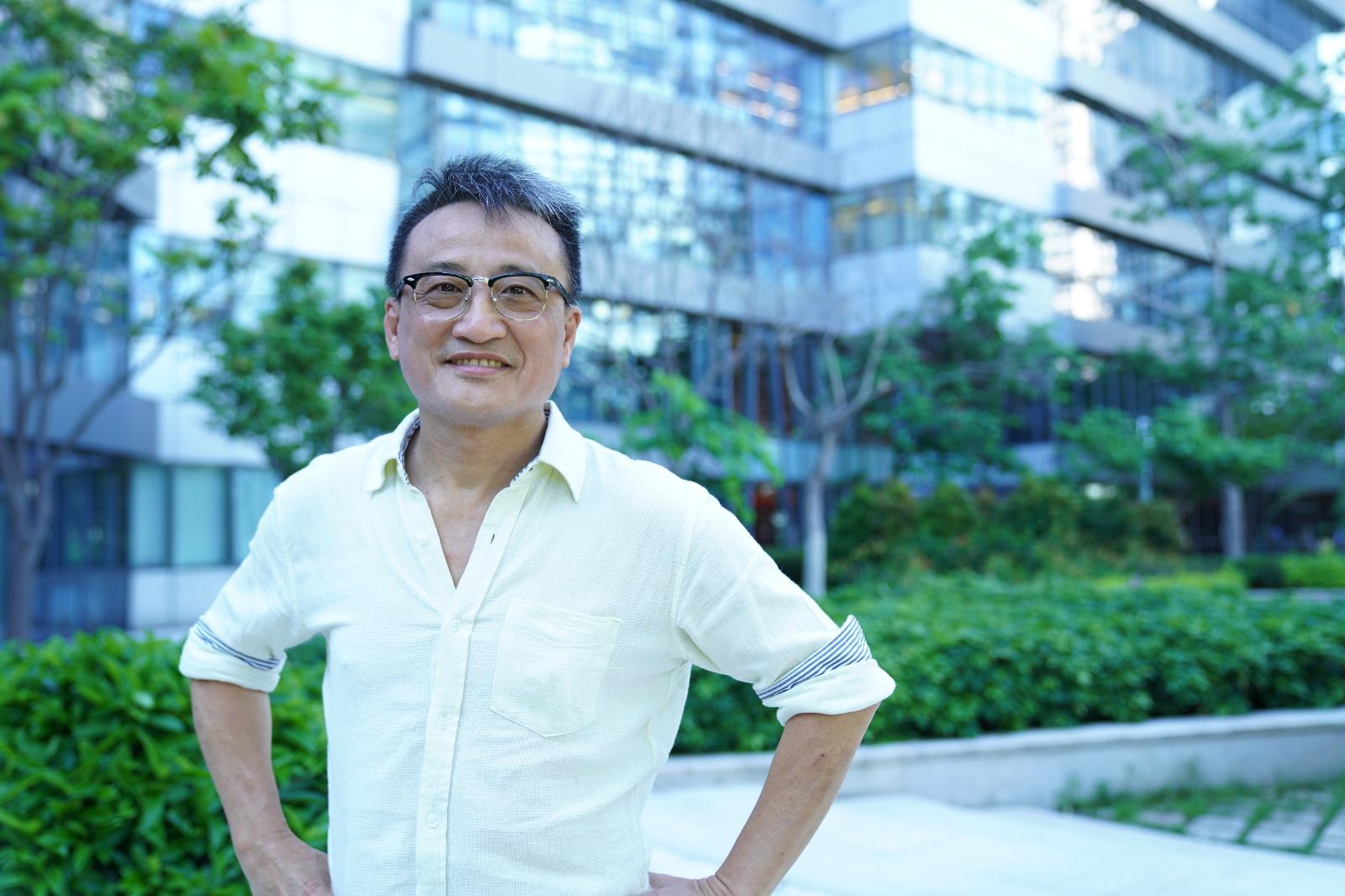 吳明德表示美國考慮限制資金進出香港,要看緊美國資金。(圖片來源:陳泓銘/大紀元)