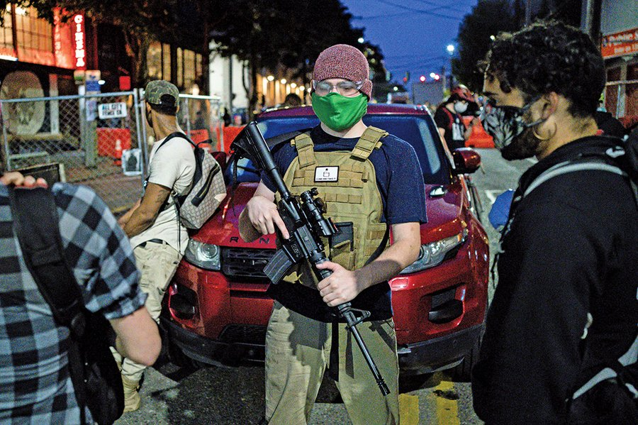 極端份子佔西雅圖建自治區