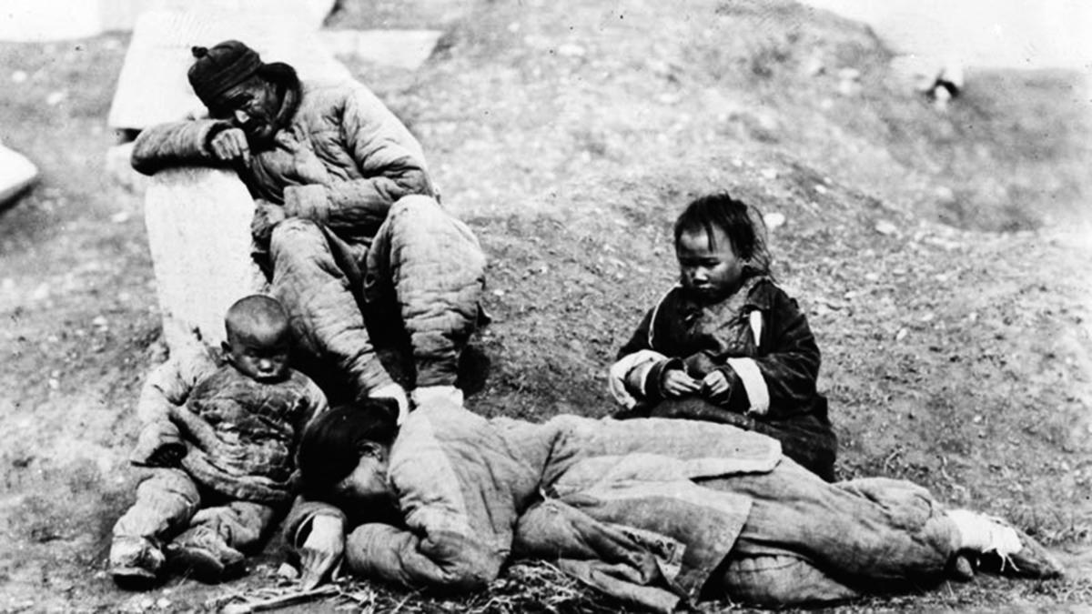 打倒張愷帆,安徽大躍進餓死500萬人。(Getty Images)
