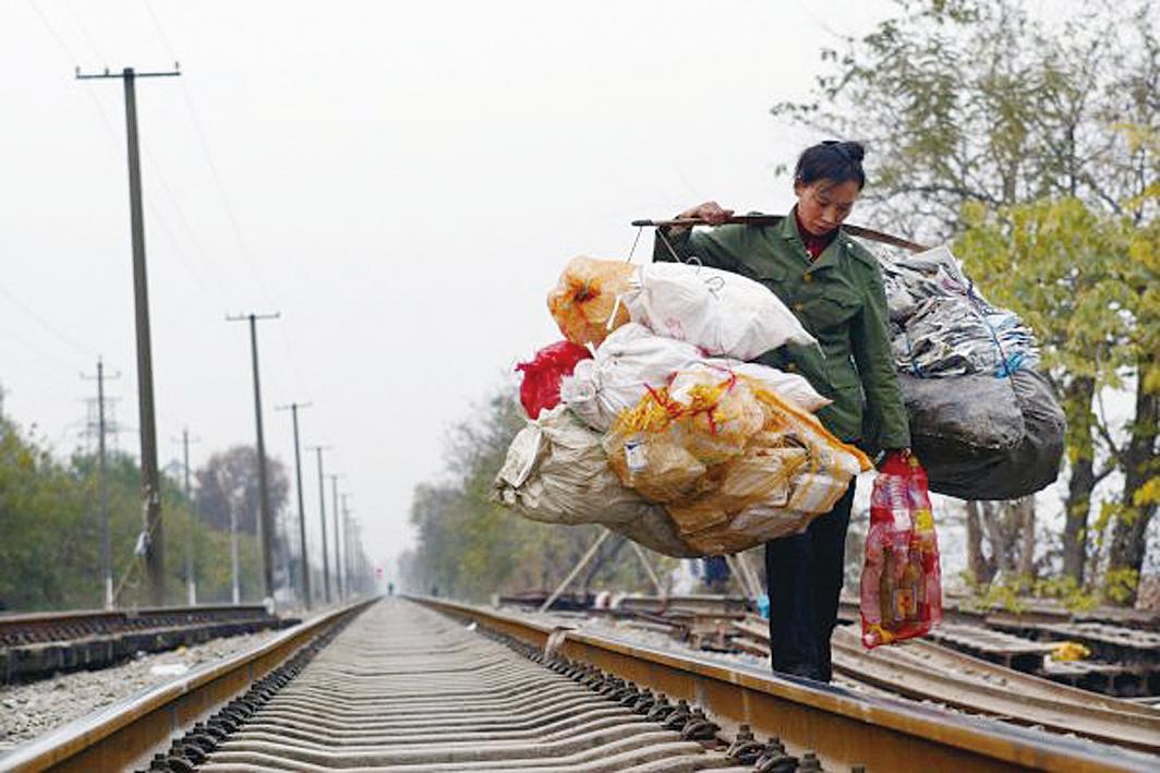 中共病毒重創大陸經濟,致經濟大幅下滑。圖為資料照。(Getty Images)