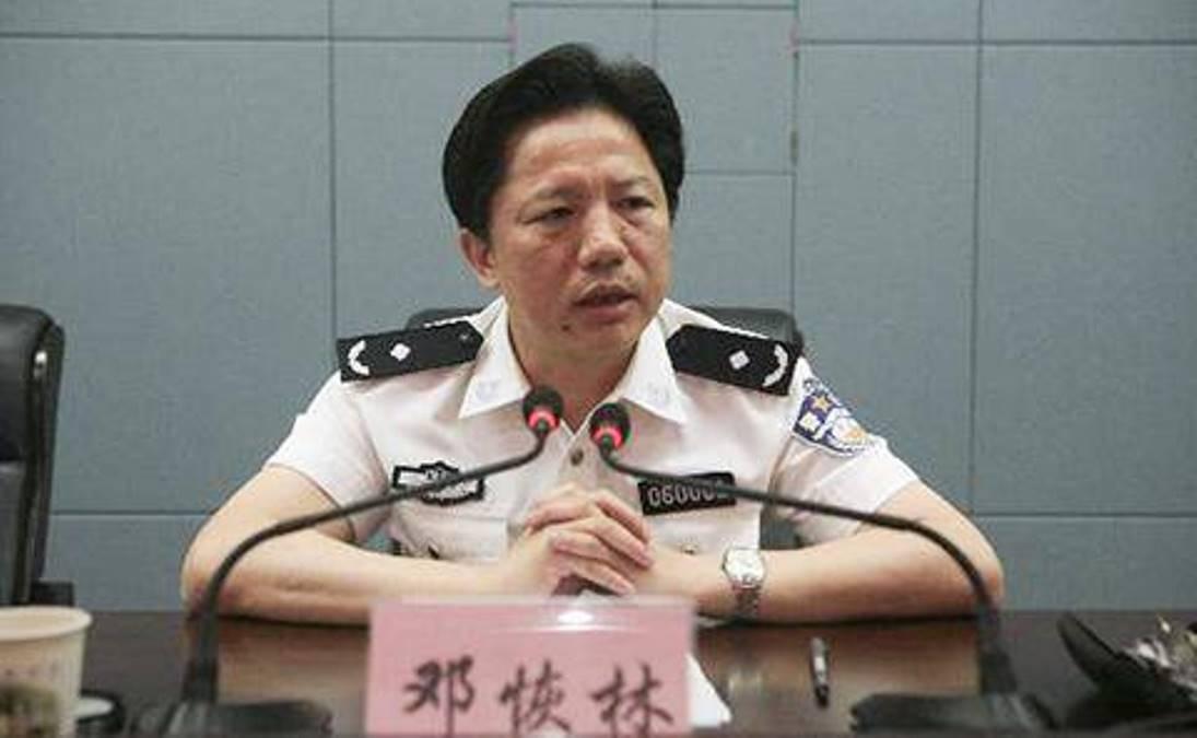重慶官場再度震盪,公安局長鄧恢林落馬。(網絡圖片)