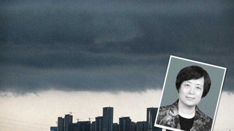近日推特上傳出消息,中共司法部政治部主任馮力軍跳樓自殺。(新唐人合成圖片)