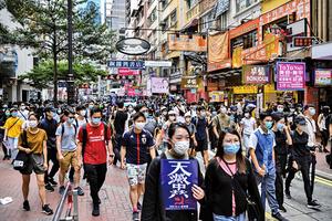 中共綁架中國人 強推港版國安法