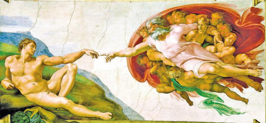 文藝復興巨匠 米開朗基羅── 《創世紀》(三)
