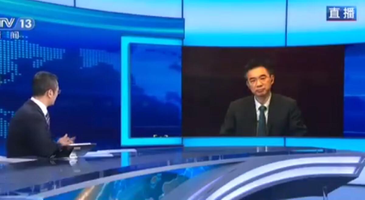 中共疾病預防控制中心流行病學專家吳尊友2020年6月15日晚接受了中共央視的專訪,談論近日北京出現的新一波疫情。(影片截圖)