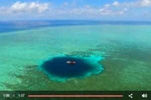 南海發現世界最深水下天坑 深300米
