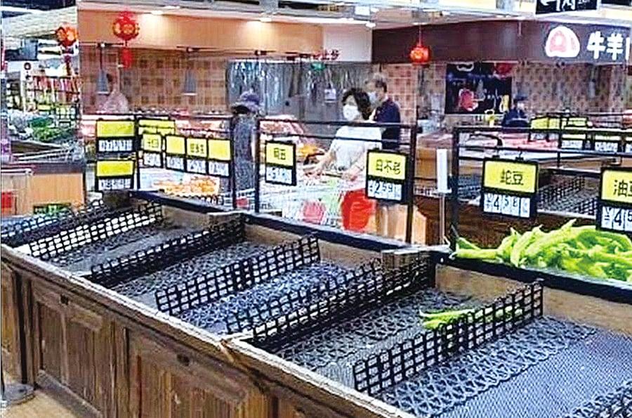 北京疫情再燃 多超市現搶購潮
