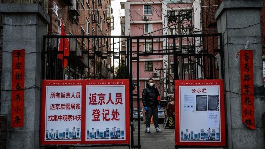北京疫情失控 所有小區皆「封閉式管理」