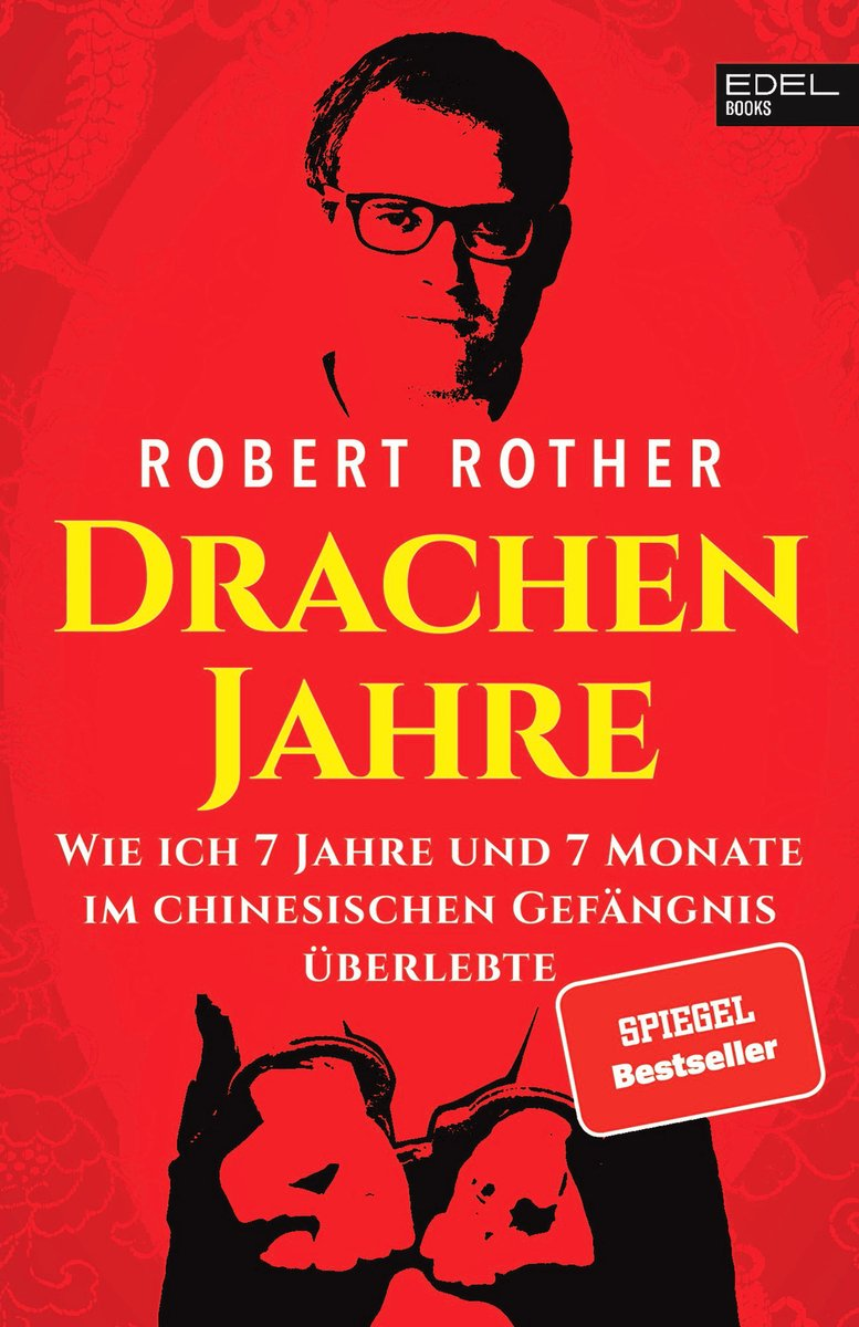 羅特寫作出版的《龍年 Drachenjahre》一書封面。(Edel Books 出版社提供)