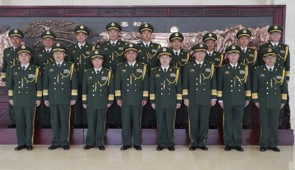 武警周末加班晉升十將軍 有江澤民仇家