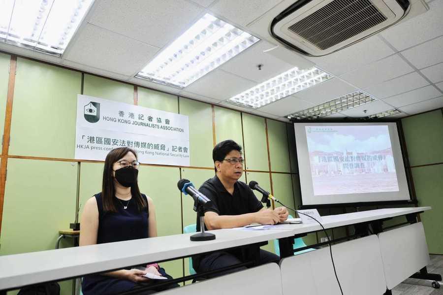 記協:98%新聞從業員反對訂立國安法