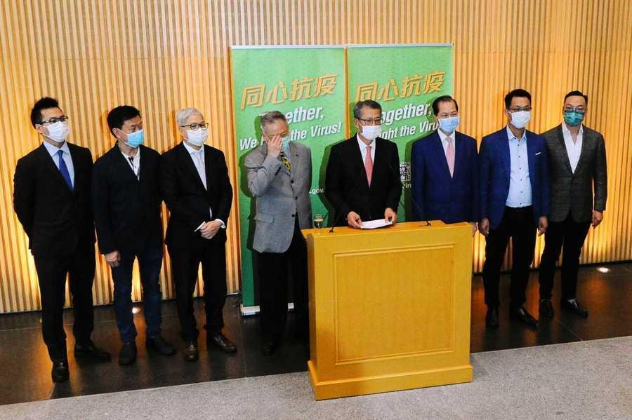 陳茂波宣佈刺激消費計劃 數千餐廳將推出七月七折、八月八折優惠